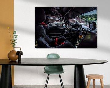 Ferrari 488 Challenge Evo Cockpit van Bas Fransen