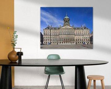 Koninklijk Paleis op de Dam Amsterdam van Tony Vingerhoets