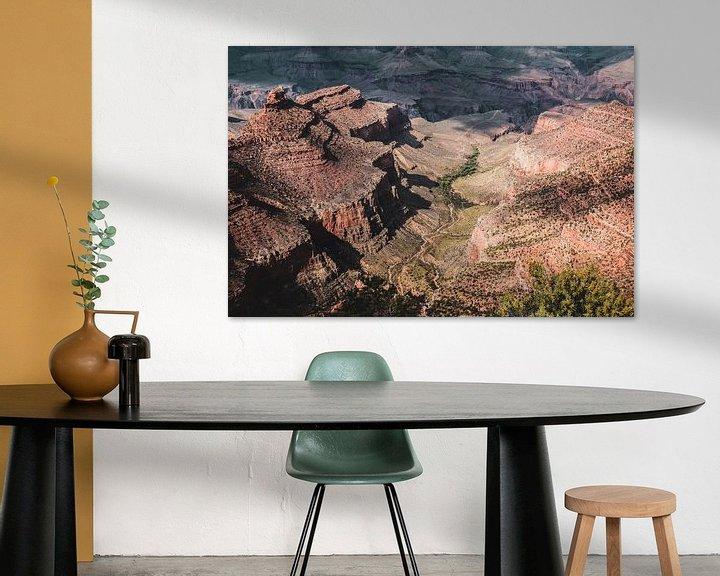Beispiel: Grand Canyon von Annette van Dijk-Leek