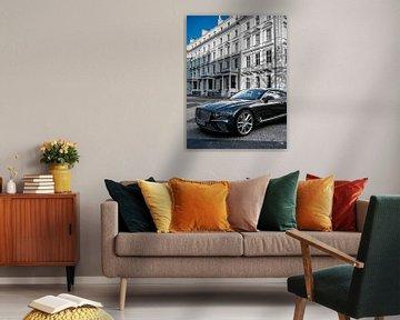 La belle Bentley à Londres sur Matthijs Noordeloos