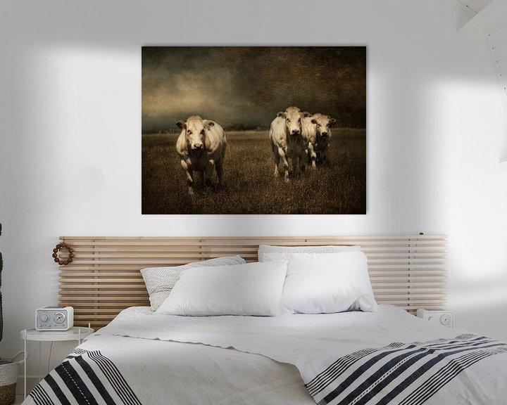 Beispiel: 3 Kühe von Marijke de Haze