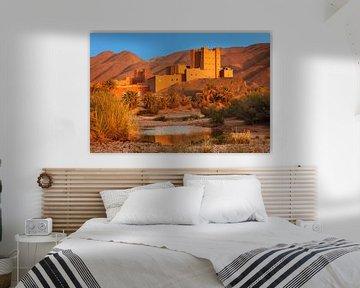 Kasbah, Draa Tal, Atlas Gebirge, Marokko von Markus Lange