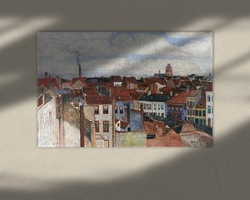 James Ensor. Stadtbild Ostende