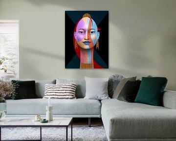 Königin der Farben von Ton van Hummel (Alias HUVANTO)