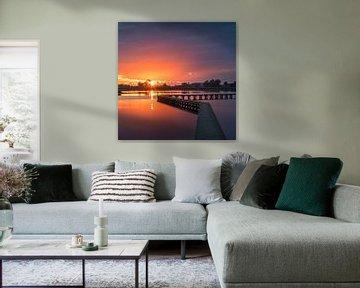 't Roegwold, Groningen, Nederland van Henk Meijer Photography