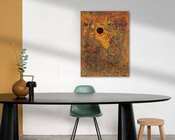 43 Sphere 9 Autumn Honey Sun von ANTONIA PIA GORDON