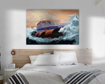 Recherche et sauvetage en mer.