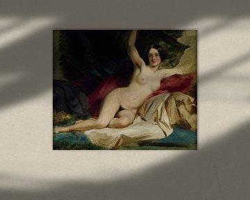 Weiblich nackt liegend, William Etty