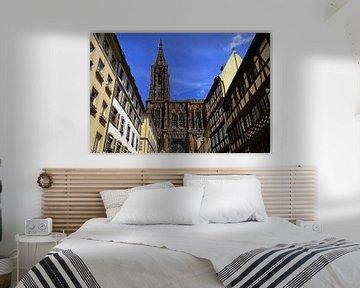 Kathedraal van Straatsburg van Patrick Lohmüller