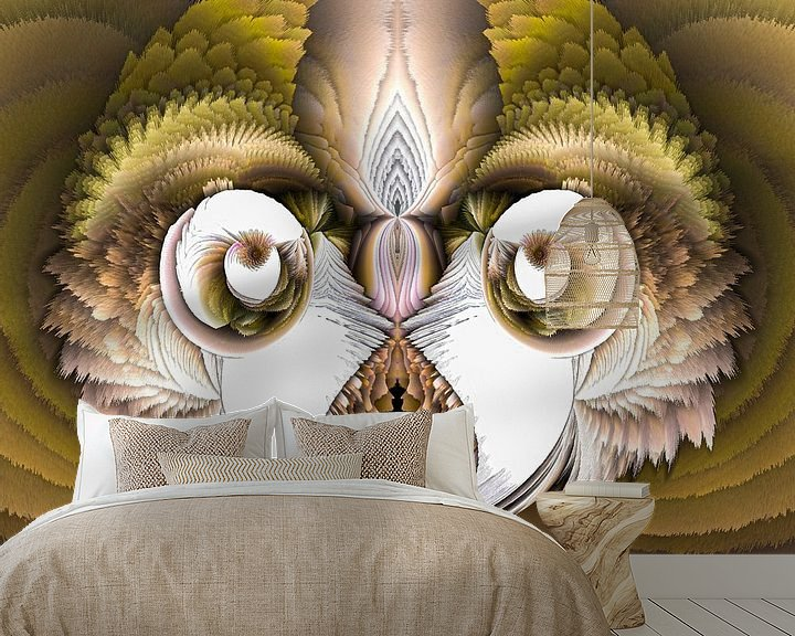 Beispiel fototapete: Phantasievolle abstrakte Twirl-Illustration 97/19 von PICTURES MAKE MOMENTS
