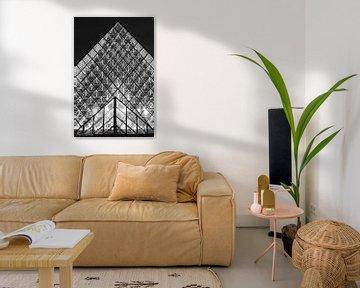 Die Pyramiden des Louvre von Bert Boevink