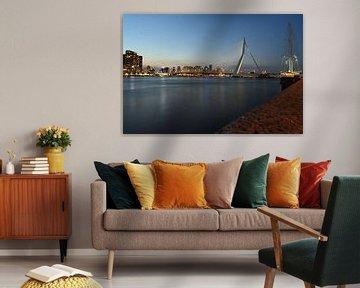 Erasmusbrug Rotterdam van John Kraak
