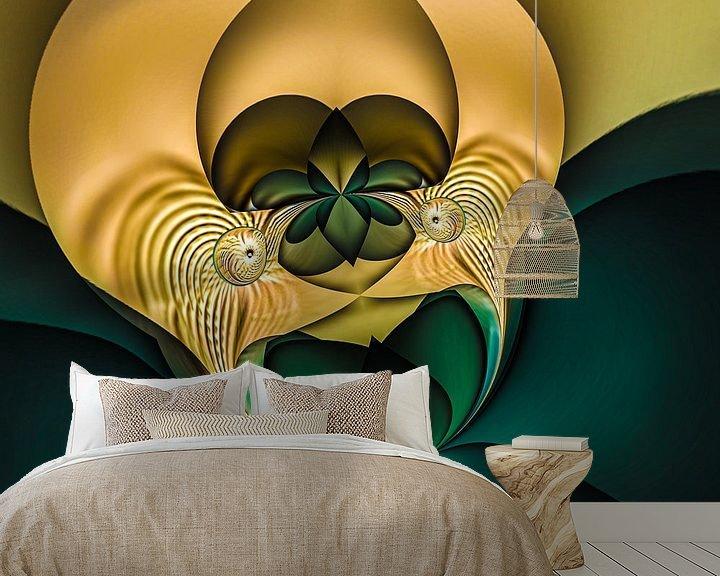 Beispiel fototapete: Phantasievolle abstrakte Twirl-Illustration 95/11 von PICTURES MAKE MOMENTS