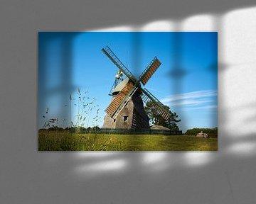 Windmühle auf der Insel Amrum