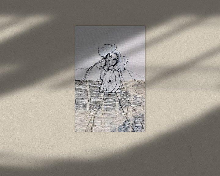 """Beispiel: """"Das Mädchen des Meeres von Kim Rijntjes"""
