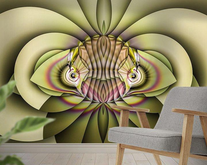 Beispiel fototapete: Phantasievolle abstrakte Twirl-Illustration 83/7 von PICTURES MAKE MOMENTS