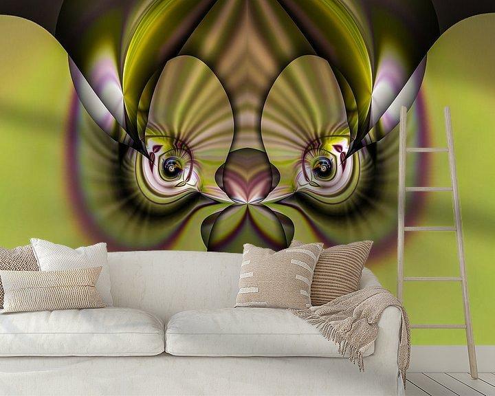 Beispiel fototapete: Phantasievolle abstrakte Twirl-Illustration 83/15 von PICTURES MAKE MOMENTS