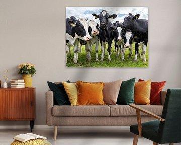 Kühe auf der Wiese von Inge van den Brande