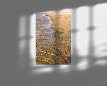 Strand - Wasserlinie von Wouter van Woensel