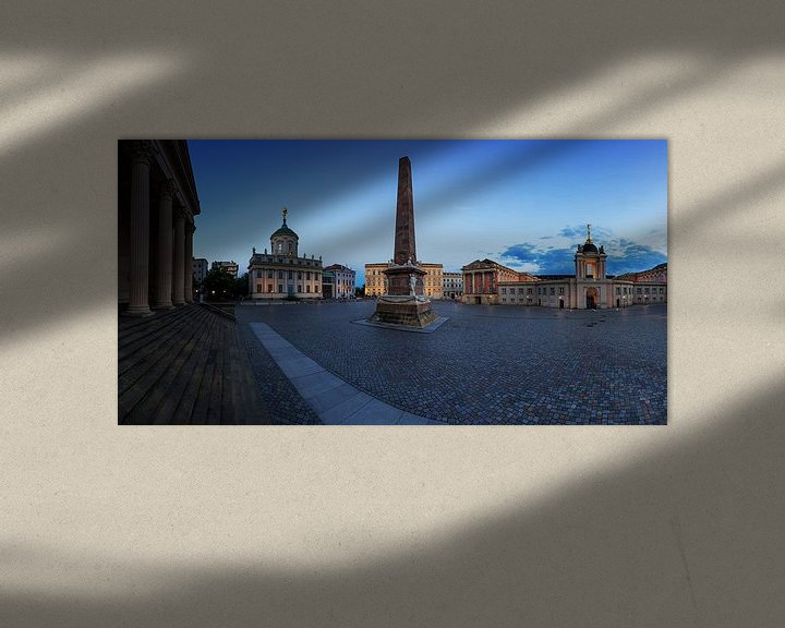 Sfeerimpressie: Potsdam Oude Markt van Frank Herrmann