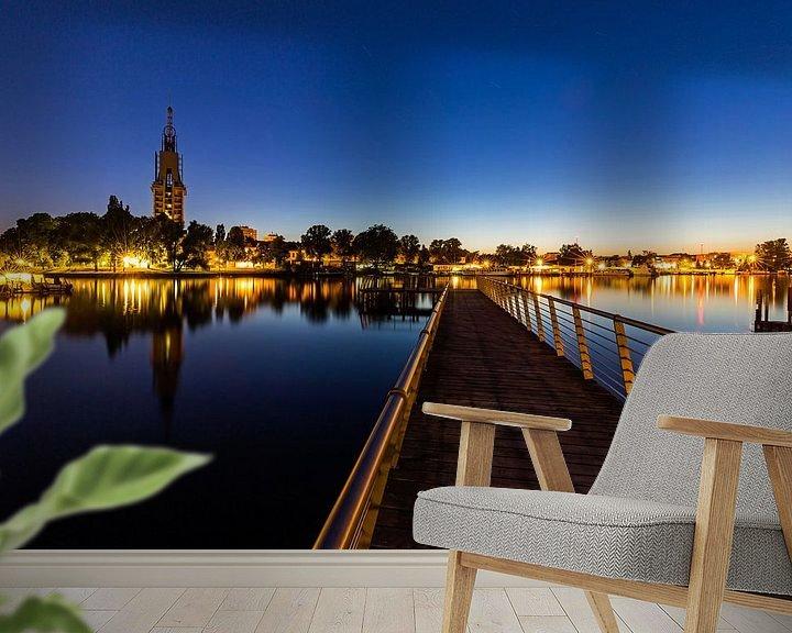 Impression: Le ciel de Potsdam sur la Havel à l'heure bleue sur Frank Herrmann