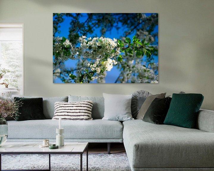 Sfeerimpressie: Witte bloemen van RK