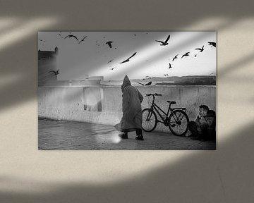 Straßenleben in Essaouira, Marokko von Ellis Peeters