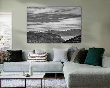 Uitzicht in noorwegen van Jos Venes
