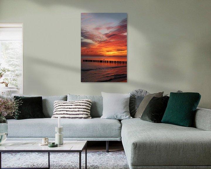 Beispiel: Sonnenaufgang an der Ostsee von Karina Baumgart