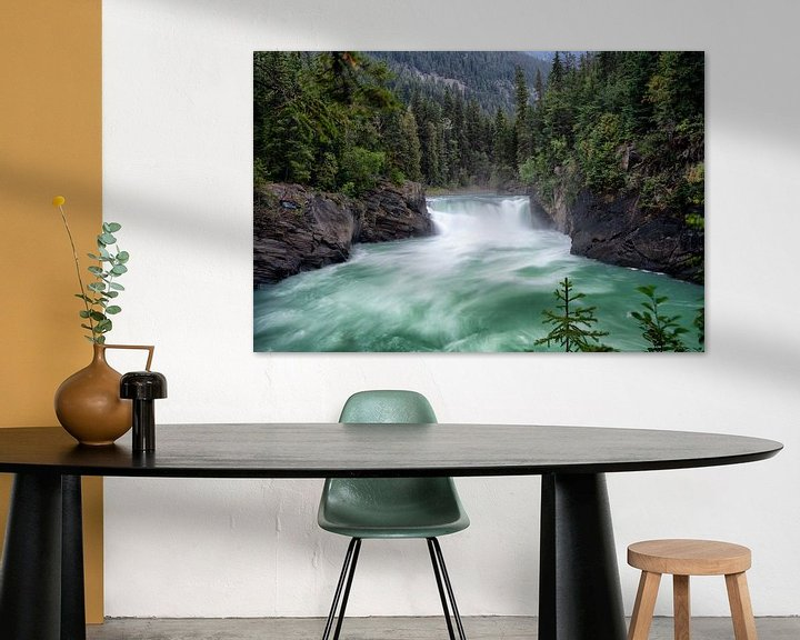 Sfeerimpressie: Mount Robson Overlander Falls van Vivo Fotografie