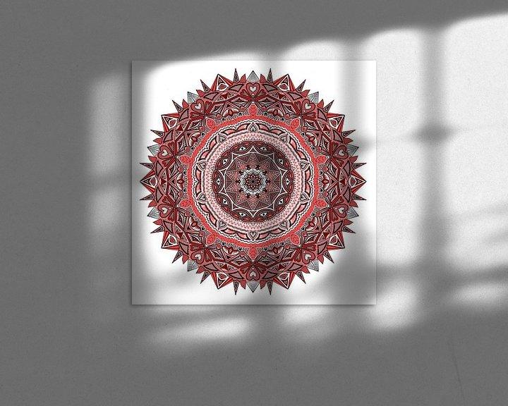 Beispiel: Mandala in Rottönen von Andie Daleboudt