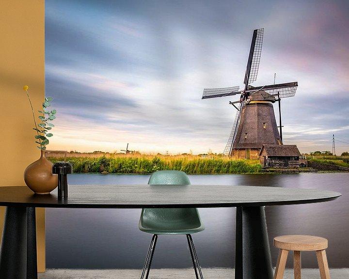 Beispiel fototapete: Mühle Kinderdijk von Juul Hekkens