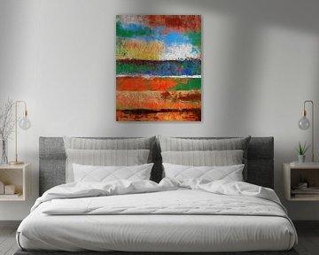 Abstrakte Komposition 969 von Angel Estevez