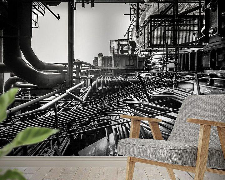 Sfeerimpressie behang: Spaghetti van Olivier Photography