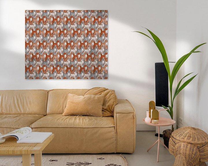 Beispiel: Tiger-Muster von Renée van den Kerkhof