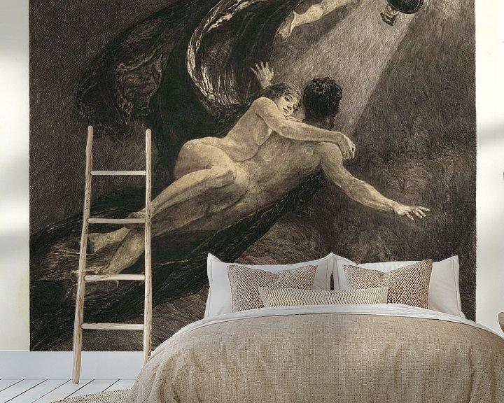 Beispiel fototapete: Neue Träume von Glück, Max Klinger  - 1887 von Atelier Liesjes