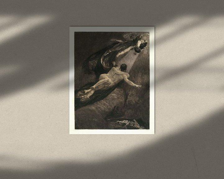 Beispiel: Neue Träume von Glück, Max Klinger  - 1887 von Atelier Liesjes