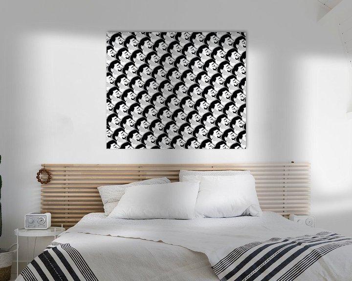 Beispiel: Gentlemen-Muster von Renée van den Kerkhof