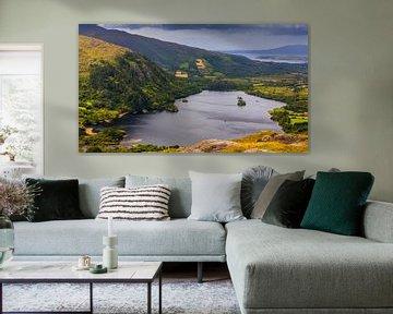 Uitzicht vanaf de Healy Pass, Ierland