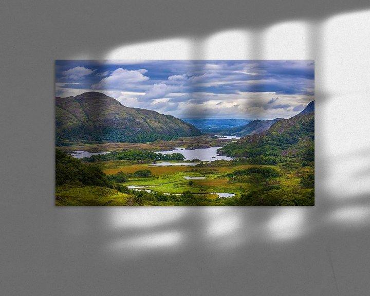 Sfeerimpressie: De Ladies View, in Killarney nationaal park, Ierland van Henk Meijer Photography