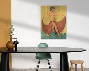 Tänzerin (Maschka, tanzend), Otto Mueller - ca1903 von Atelier Liesjes