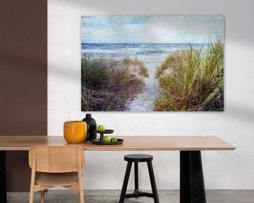Weg zum Strand von Claudia Moeckel