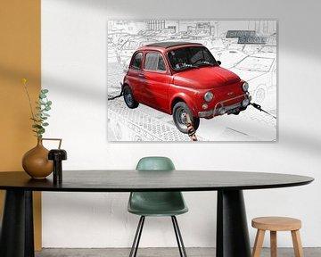 Fiat Nuova 500 L van aRi F. Huber