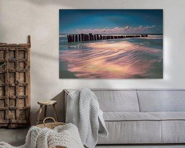 Palen in Zee 2 van peterheinspictures