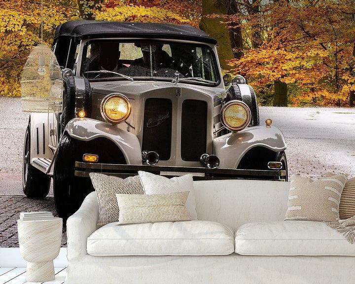 Sfeerimpressie behang: Bentley Beauford van Brian Morgan