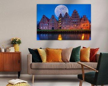 Zoutopslag in Lübeck van Tilo Grellmann | Photography