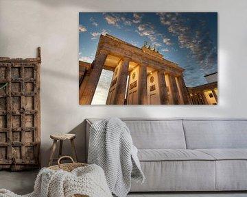 Brandenburger Tor bij zonsondergang van Tilo Grellmann | Photography