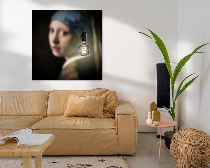 Impression: Meisje met de Parel - Art Lumineux sur Marja van den Hurk