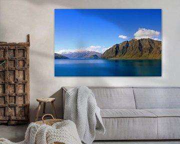 Mountain lake van Chris Rijnbeek