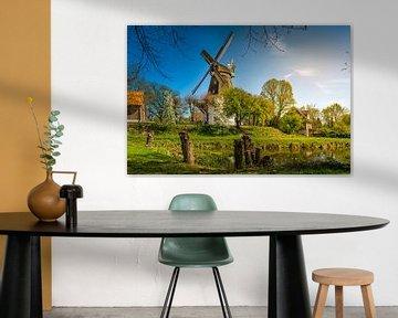 Hamburg, Architektur, Windmühle, Wilhelmsburg von Ingo Boelter